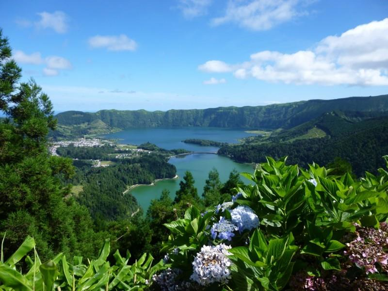 Sete Cidades Ferienhaus Azoren