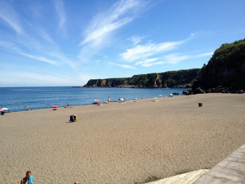 Azoren-Urlaub Traumstrand