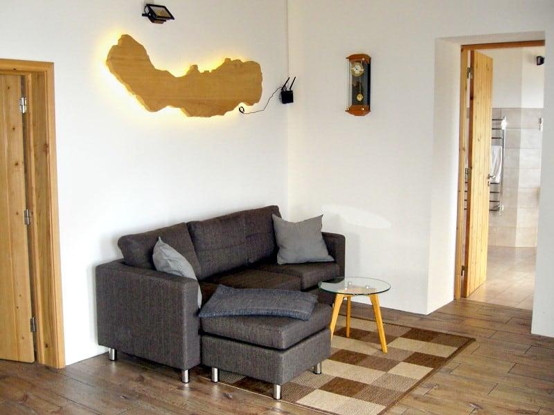 Wohnzimmer Ferienhaus Azoren